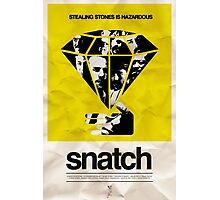 snatch minimalist poster Photographic Print