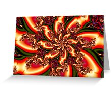 On Fire for You Greeting Card