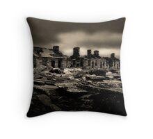 miners barracks (capel curig-north wales) Throw Pillow