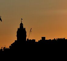 Silhouette of Edinburgh II by Andrew Ness - www.nessphotography.com