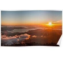 Hobart Summer Sunrise Poster