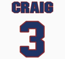 National baseball player Craig Gentry jersey 3 by imsport