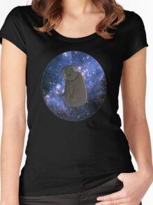 Spacey DEPRESSEDMONSTERS Women's Fitted Scoop T-Shirt