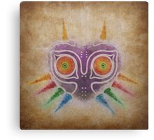 Legend of Zelda - Majora's Mask Weathered Canvas Print
