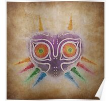 Legend of Zelda - Majora's Mask Weathered Poster
