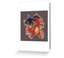 #005 Charmeleon Greeting Card
