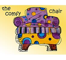 the comfy chair Photographic Print