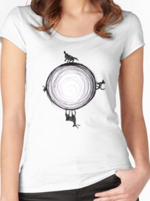 Marauders Moon Women's Fitted Scoop T-Shirt