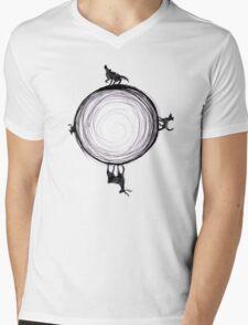 Marauders Moon Mens V-Neck T-Shirt