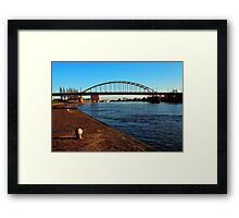 The bridge that proved to be too far Framed Print