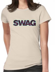 Green Swag Womens Fitted T-Shirt