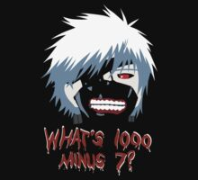 "Tokyo Ghoul - ""What's 1000 minus 7?"" (Minimalistic) by BK4REVENGE"