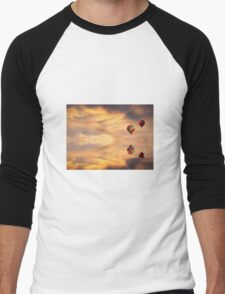 Sailing into Serenity  Men's Baseball ¾ T-Shirt