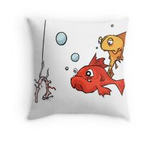 Hook: Incognito Throw Pillow