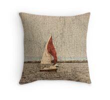 Lake Superior Sails Throw Pillow