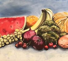 Eat Your Fruit and Vege by Jen  Biscoe