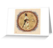Calling Upon The Antelope Spirit Greeting Card