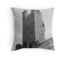 Dunstanburgh castle,Northumberland. Throw Pillow