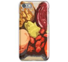 Eat Your Fruit and Vege - digitally enhanced iPhone Case/Skin