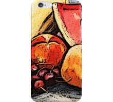 Eat Your Fruit and Vege - digitally enhanced 2 iPhone Case/Skin