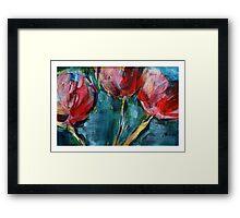 Tulips. Framed Print