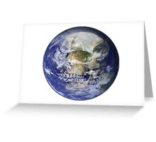 Dead Planet Greeting Card