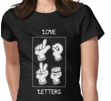Love Letters Womens Fitted T-Shirt