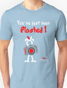 Red - The New Guy - You've just been Flashed ! Unisex T-Shirt