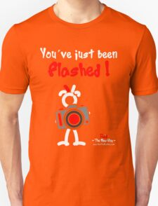 Red - The New Guy - You've just been Flashed ! T-Shirt