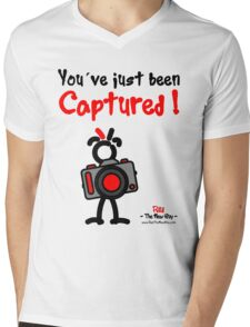 Red - The New Guy - You've just been Captured ! Mens V-Neck T-Shirt