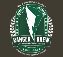 RANGER BREW: Dragonzord Lager by CainVoorhees