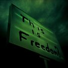 this is freedom? by Una Bazdar