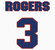 National baseball player Rogers McKee jersey 3 by imsport