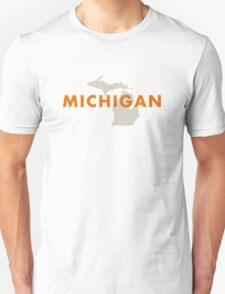 Michigan - Red T-Shirt