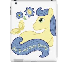 Be Your Own Pony (Gentlemen) iPad Case/Skin