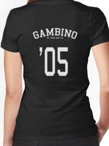 Childish Gambino until 3005 Women's Fitted V-Neck T-Shirt