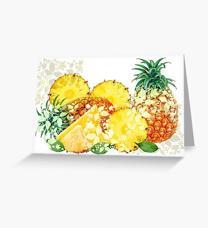 Summer Morning in Funchal Greeting Card