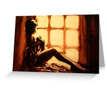 The Quiet Edge of the Day. Greeting Card