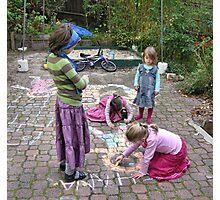 Backyard artists  Photographic Print