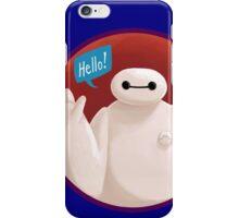 Adorable Robot says Hello! iPhone Case/Skin
