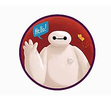 Adorable Robot says Hello! Photographic Print