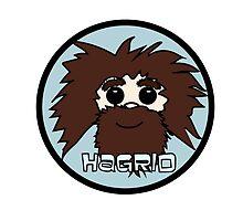 hagrid, harry potter brady bunch by lizzielizard