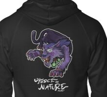 I'm A Force of Nature, Baby! Zipped Hoodie