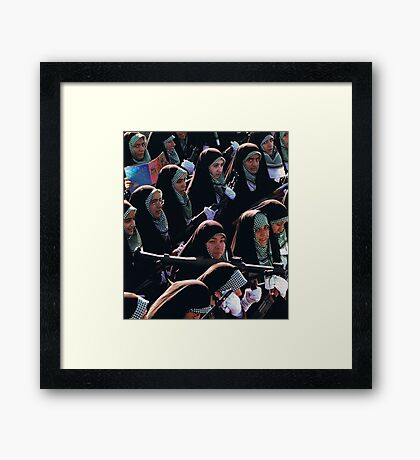 """""""Who the Fuck""""....weekly Framed Print"""