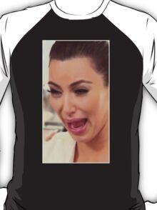 Kim Kardashian cry face T-Shirt