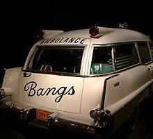 Vintage Ambulance by Katherine Anderson