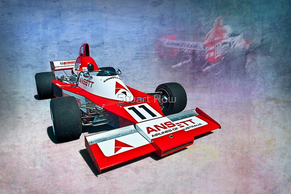 Formula 5000 Elfin MR8 AC by Stuart Row