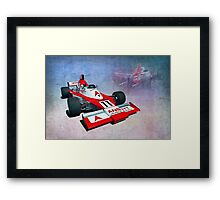 Formula 5000 Elfin MR8 AC Framed Print