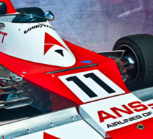 Formula 5000 Elfin MR8 AC Sticker