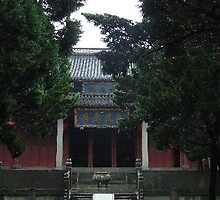 Temple of Confucius, China by chord0